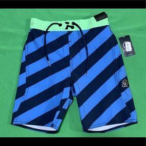 NWT Volcom Surf Board Shorts Size 7